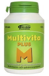 Multivita Plus multivitamin 200 tablets