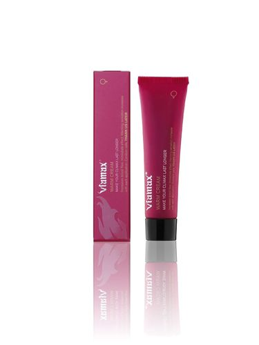Viamax Warm Cream 15 ml a warming intimate cream