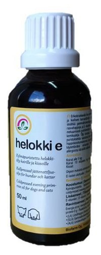 Helokki E drops 50 ml For cats, dogs and horses
