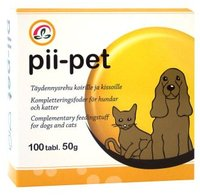 Pii-pet - silicon and zinc 100 tablets