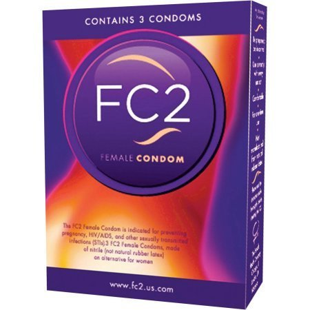 FC2 the Female condom 3 pcs