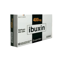 IBUXIN 400 mg 10, 20 or 30 tablets