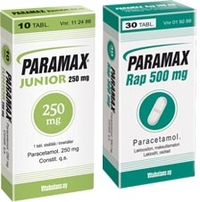 PARAMAX JUNIOR 250 mg 10 tablettia