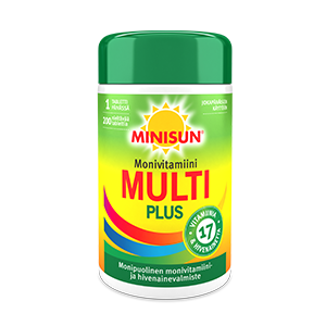 Minisun Multi Plus Monivitamiini 200 tablettia