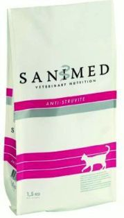 Sanimed Anti-Struvite 1,5 kg ja 4,5 kg
