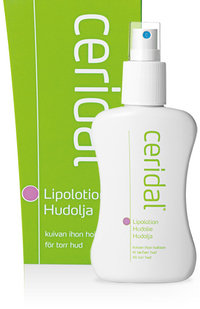 Ceridal Lipolotion 100 ml tai 500 ml