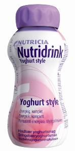 Nutridrink 4 x 200 ml oral nutrional supplement, several flavours