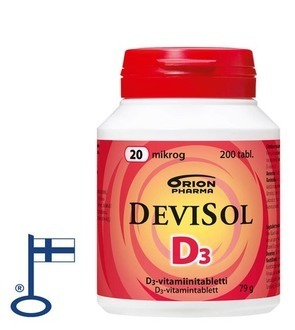 OFFER Devisol 20 µg 200 tablets