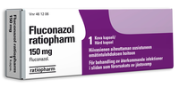 FLUCONAZOL RATIOPHARM 150 mg 1 капсула