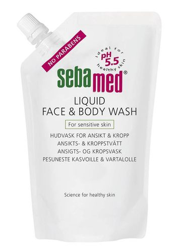 Sebamed Face & Bodywash 1000 ml refill