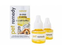 Pet Remedy Blug in diffuser, Refill pack 2 x 40 ml