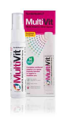 MultiVit monivitamiinisuihke 25 ml