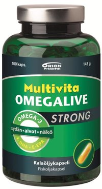 OFFER Multivita Omegalive Strong 100 капсул