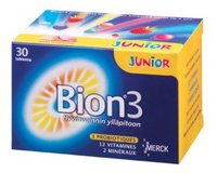 Bion 3 Junior 30 chewable tablets
