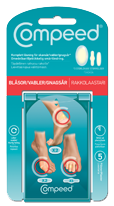 Compeed Mix-pack blister plasters 3 sizes 5 pcs