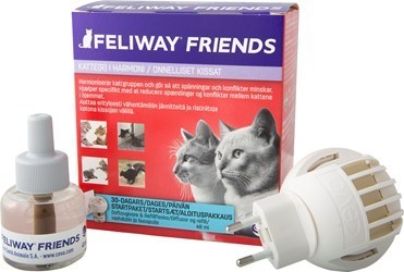Feliway Friends haihdutin ja liuos 48 ml