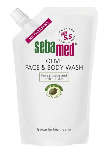 Sebamed Olive Face & Bodywash 1000 ml Refill