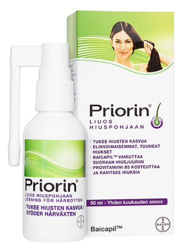 Priorin liuos 50 ml