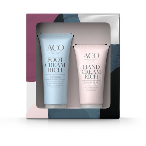 ACO Body Hand cream 75 ml ja Foot cream 100 ml lahjapakkaus