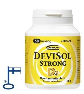 Devisol Strong 50 µg 200 tablettia