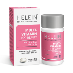 Helein Multivitamin for Beauty 60 tablettia