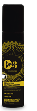 Be3 Miracle Tan self tanning spray 75 ml