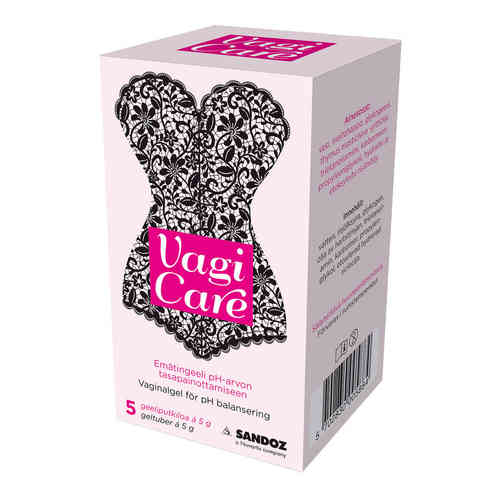 OFFER Vagicare vaginal gel 5x5 g