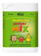 Multivita Junior Mix 30 or 200 tablets