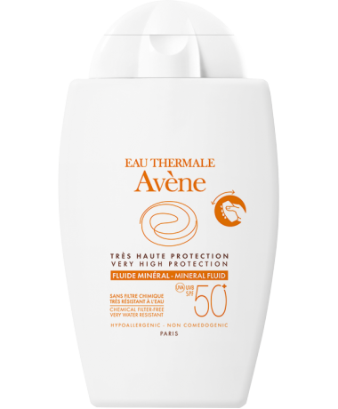 Avène Very High Protection Mineral Fluid SPF 50+ 40 ml