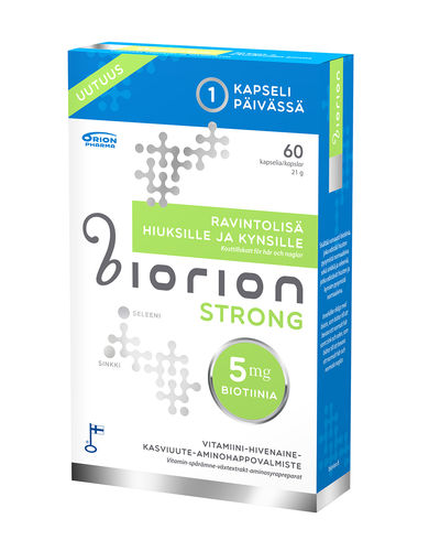 Biorion Strong 5 mg 60 kaps.