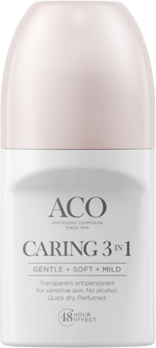 ACO Body Caring 3 in 1 deodorant 50 ml
