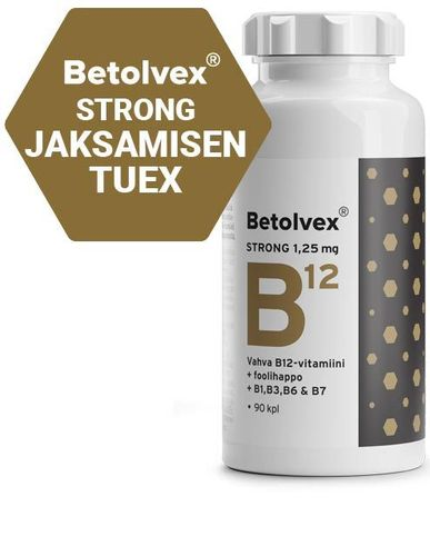 TARJOUS Betolvex Strong 1,25 mg 90 tabl
