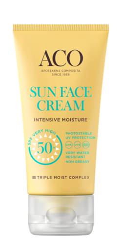ACO Sun Face Cream Intensive Moisture Spf 50+ 50 ml