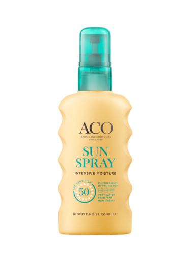 ACO SUN BODY SPRAY SPF 50+ kosteuttava aurinkospray 175 ml