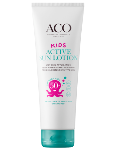 Aco Sun Kids Lotion Active SFP 50+ 125 tai 250 ml