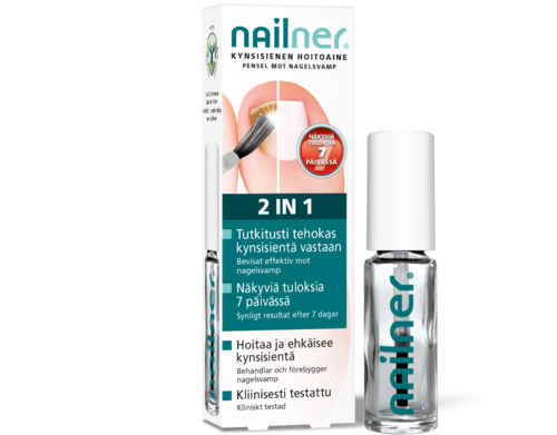 Nailner 2 in 1 hoitoaine 5 ml