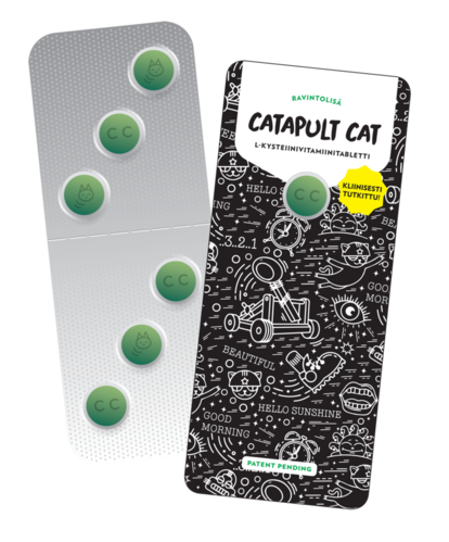 Catapult Cat food suplement 6 tablets
