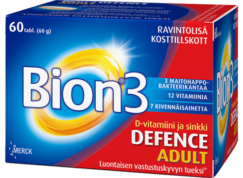 Bion 3 Defence Adult 60 kapselia