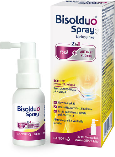 Bisolduo® Spray –nielusuihke