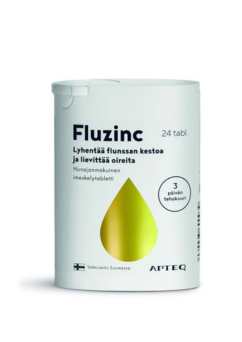 Apteq Fluzinc Honey 24 tablets