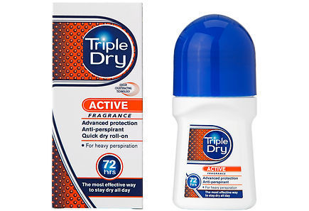 Triple Dry Active Men Roll-on antiperspirantti 50 ml