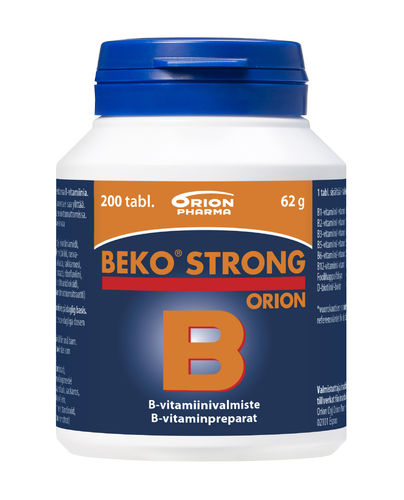 Beko Strong  Orion 30, 100 or 200 tablets
