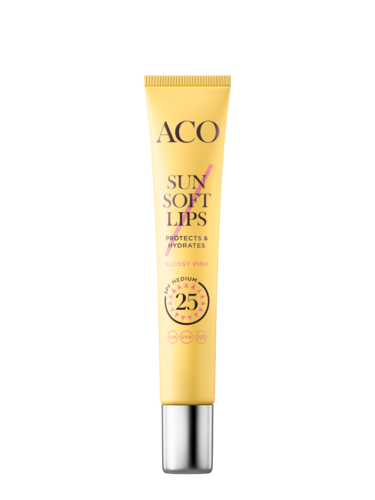 ACO Sun Soft Lips SPF 25 12 ml