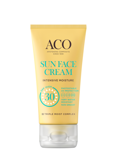 ACO Sun Face cream Intensive Moisture SPF 30 50 ml