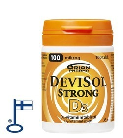 Devisol Strong 100µg 100 tablettia